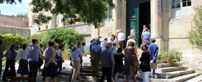 Visite guidée palais abbatial