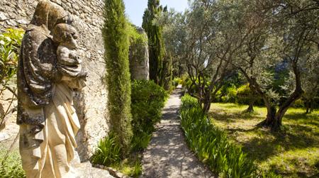 Abbaye Saint André – Villeneuve-lez-Avignon – Les jardins