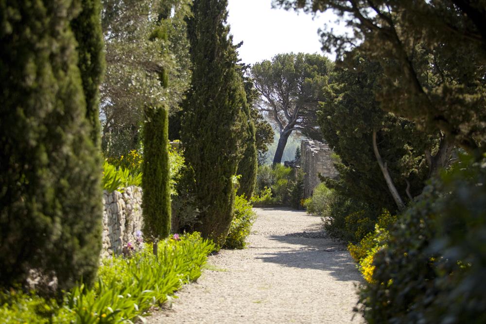 Abbaye saint andr villeneuve lez avignon les jardins Entretien jardin villeneuve les avignon