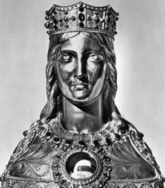 Buste reliquaire de Sainte-Casarie