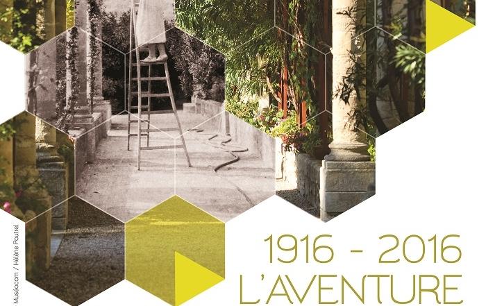1916-2016 : l'Aventure Saint-André, centenaire de la renaissance de l'abbaye et de ses jardins