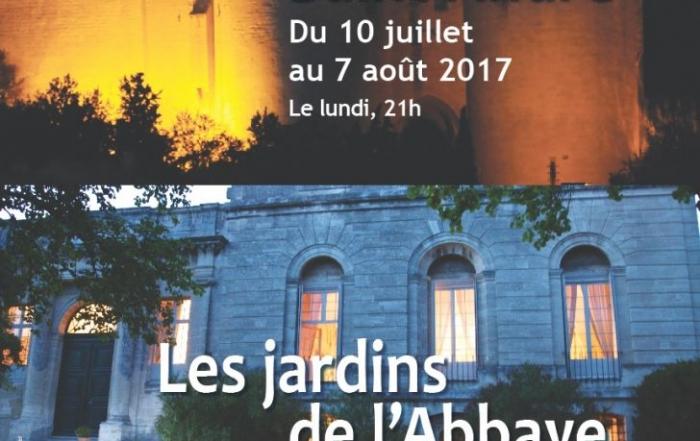 Visites nocturnes des jardins à la lanterne du 2 au 23 août 2017