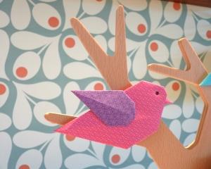Atelier oiseaux et insectes en origami abbaye Saint-André Villeneuve-lès-Avignon - Copyright 2019 - Delphine Minassiam - Mon atelier origami (4)