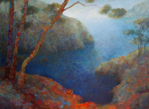 Exposition de peinture «Le souffle du paysage» Claire Degans du 11 septembre au 3 novembre 2019