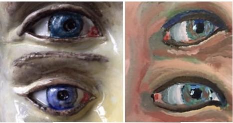 Exposition «Entre 4 yeux» par Jean et Christine Viennet  du 3 juin au 6 septembre 2020