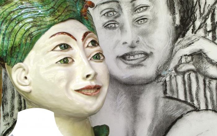 Exposition «Entre 4 yeux» par Jean et Christine Viennet  du 30 juin au 6 septembre 2020