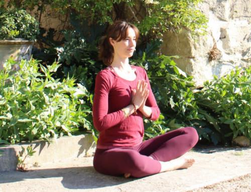 Séances de yoga hebdomadaires au cœur des jardins 2021