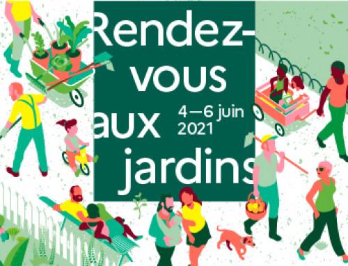 Rendez-vous aux jardins 5 & 6 juin 2021